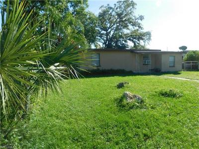Fort Myers Single Family Home For Sale: 3350 Apache St