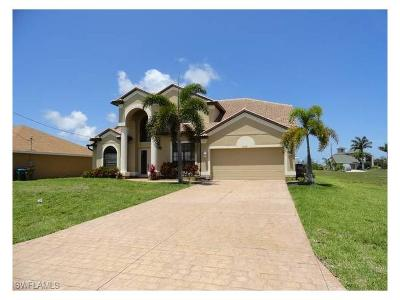 Cape Coral Single Family Home For Sale: 2712 NW 45th Pl
