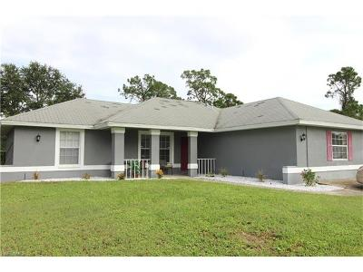 Lehigh Acres Single Family Home For Sale: 4710 3rd St W
