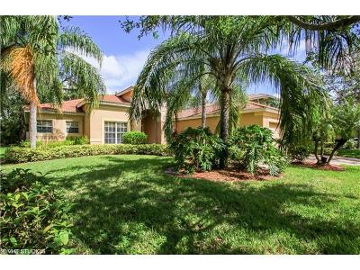North Fort Myers Single Family Home For Sale: 12953 Turtle Cove Trl