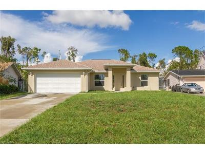 Fort Myers Single Family Home For Sale: 18371 Tulip Rd