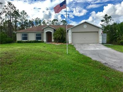 Naples Single Family Home For Sale: 4295 10th St NE