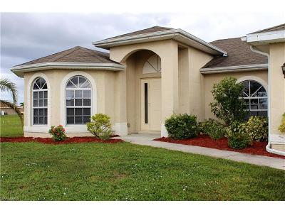 Cape Coral FL Single Family Home For Sale: $259,000