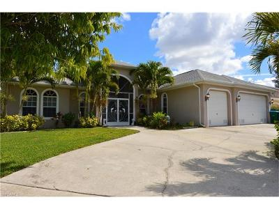 Cape Coral Single Family Home For Sale: 1323 SW 47th Ter