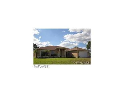 Cape Coral Single Family Home For Sale: 1708 NW 24th Ave