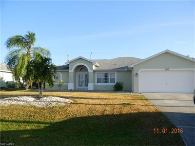 Cape Coral Single Family Home For Sale: 2529 SW 32nd Ln
