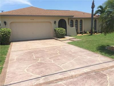 Cape Coral Single Family Home For Sale: 5239 Wisteria Ct