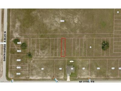 Cape Coral FL Residential Lots & Land For Sale: $8,000