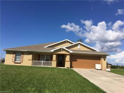 Cape Coral Single Family Home For Sale: 3003 NW 11th St