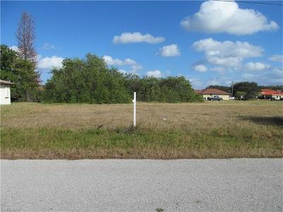 Cape Coral FL Residential Lots & Land For Sale: $59,000