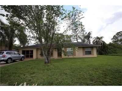 Lehigh Acres FL Single Family Home For Sale: $119,900