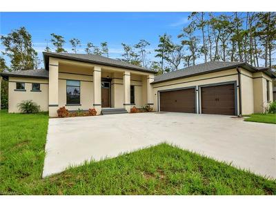 Collier County, Lee County Single Family Home For Sale: 10171 Strike Ln