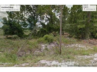 Clewiston Residential Lots & Land For Sale: 165 N Lindero St