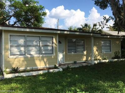 Fort Myers Single Family Home For Sale: 1613 Pawnee St