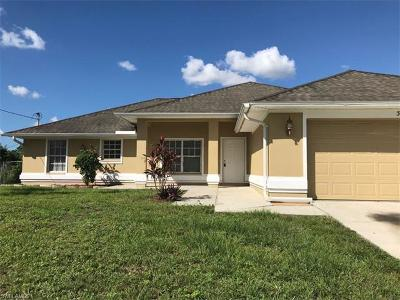 Lehigh Acres Single Family Home For Sale: 3404 41st St SW