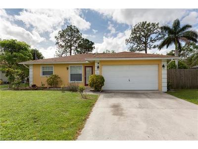 Bonita Springs Single Family Home For Sale: 3687 Maran Ln