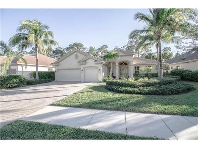 Naples FL Single Family Home For Sale: $595,000