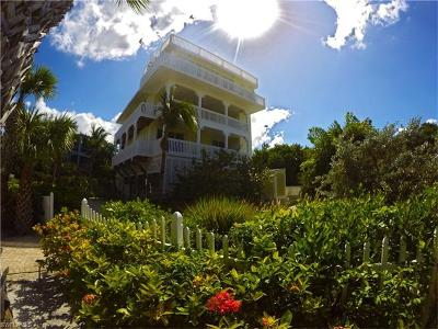 Captiva FL Single Family Home For Sale: $1,800,000