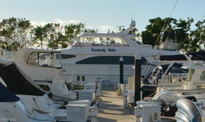 Boat Slip For Sale: 97 Ft. Boat Slip At Gulf Harbour G 10-11