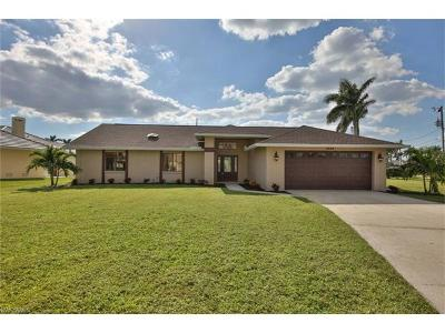 Cape Coral Single Family Home For Sale: 4924 SW 11th Ct