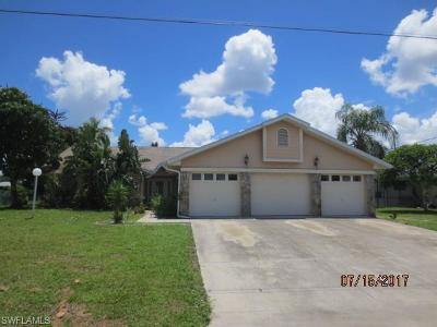 Bokeelia, Cape Coral, Captiva, Fort Myers, Fort Myers Beach, Matlacha, Sanibel, St. James City, Upper Captiva Single Family Home For Sale: 909 SE 23rd Ave