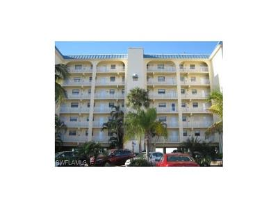 Fort Myers Condo/Townhouse For Sale: 5100 Estero Blvd #3A5