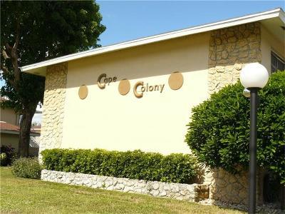 Cape Coral Condo/Townhouse For Sale: 4004 Coronado Pky #110