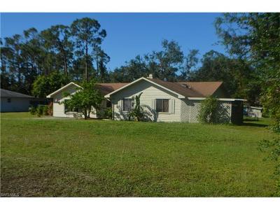 Lehigh Acres Single Family Home For Sale: 413 Richmond Ave N