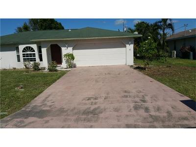 Cape Coral Single Family Home For Sale: 1107 SE 37 St