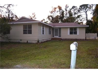 North Fort Myers Single Family Home For Sale: 2603 Harmony Ave