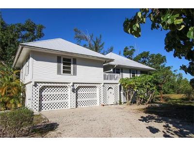 Sanibel Single Family Home For Sale: 1057 Seahawk Ln