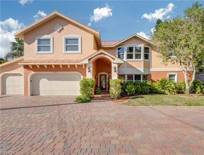 Fort Myers Single Family Home For Sale: 607 Sunnyside Ct