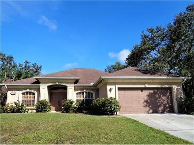 Alva Single Family Home For Sale: 2401 Jetridge St