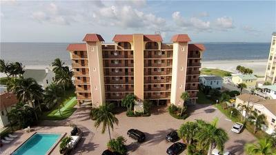 Fort Myers Beach Condo/Townhouse For Sale: 600 Estero Blvd #103