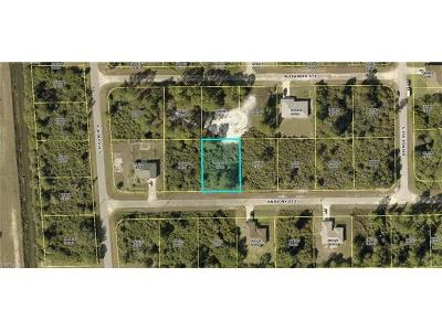 Lehigh Acres FL Residential Lots & Land For Sale: $4,655