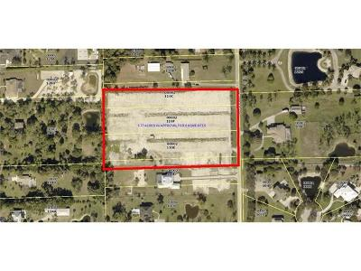 Fort Myers Residential Lots & Land For Sale: 15270, 15300, 15340 N Pebble Ln
