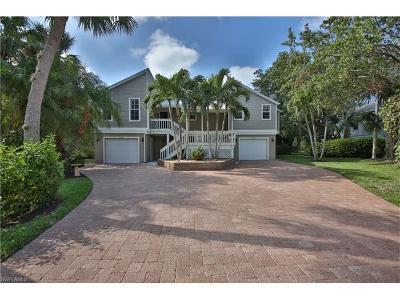 Sanibel FL Single Family Home For Sale: $895,000