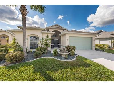 North Fort Myers Single Family Home For Sale: 3555 Sabal Springs Blvd