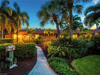 Sanibel Isles Single Family Home For Sale: 1525 San Carlos Bay Dr
