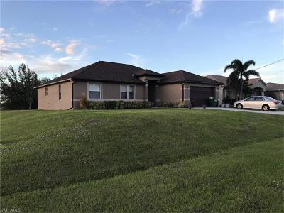 Cape Coral Single Family Home For Sale: 1300 NW 20th Ct