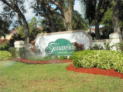 Fort Myers Condo/Townhouse For Sale: 17171 Terraverde Cir #8
