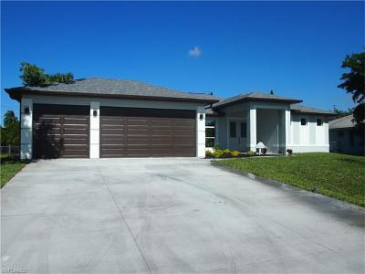 Cape Coral Single Family Home For Sale: 121 SE 45th St