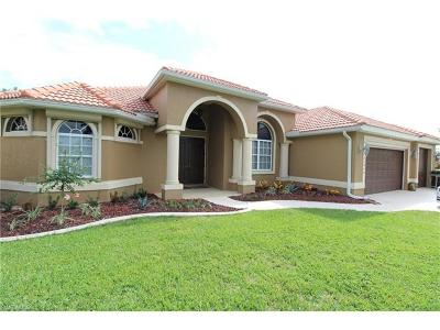 Cape Coral FL Single Family Home For Sale: $484,999