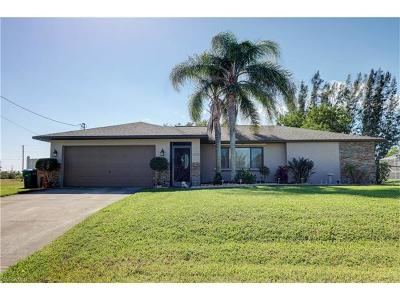 Cape Coral Single Family Home For Sale: 2522 NW 10th Ter