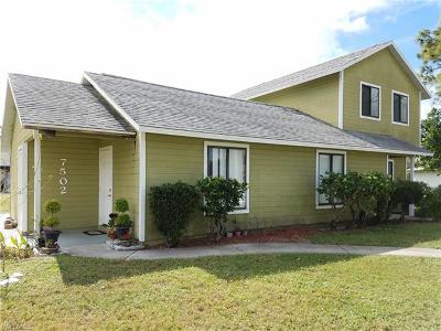 San Carlos Park Multi Family Home For Sale: 7500 Mellon Rd