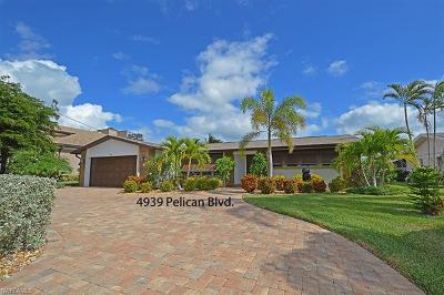 Single Family Home For Sale: 4939 Pelican Blvd
