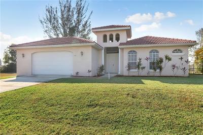 Cape Coral FL Single Family Home For Sale: $330,000