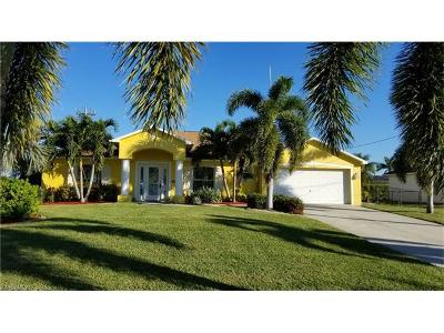 Cape Coral Single Family Home For Sale: 2415 SW 39th Ter