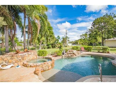 Fort Myers Single Family Home For Sale: 549 Peck Ave