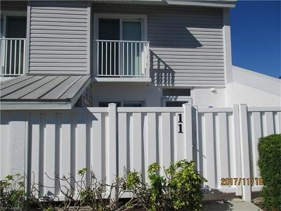 Fort Myers Beach Condo/Townhouse For Sale: 18004 San Carlos Blvd #11